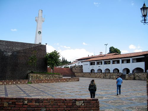 The charming pueblo of Guatavita