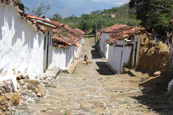 Barichara colonial town, Colombia