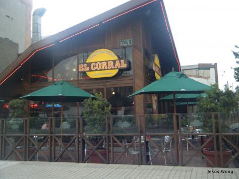 El Corral is a hamburger chain in Colombia serving up delicious hamburgers at reasonable prices