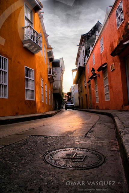 Cartagena's enchanting streets