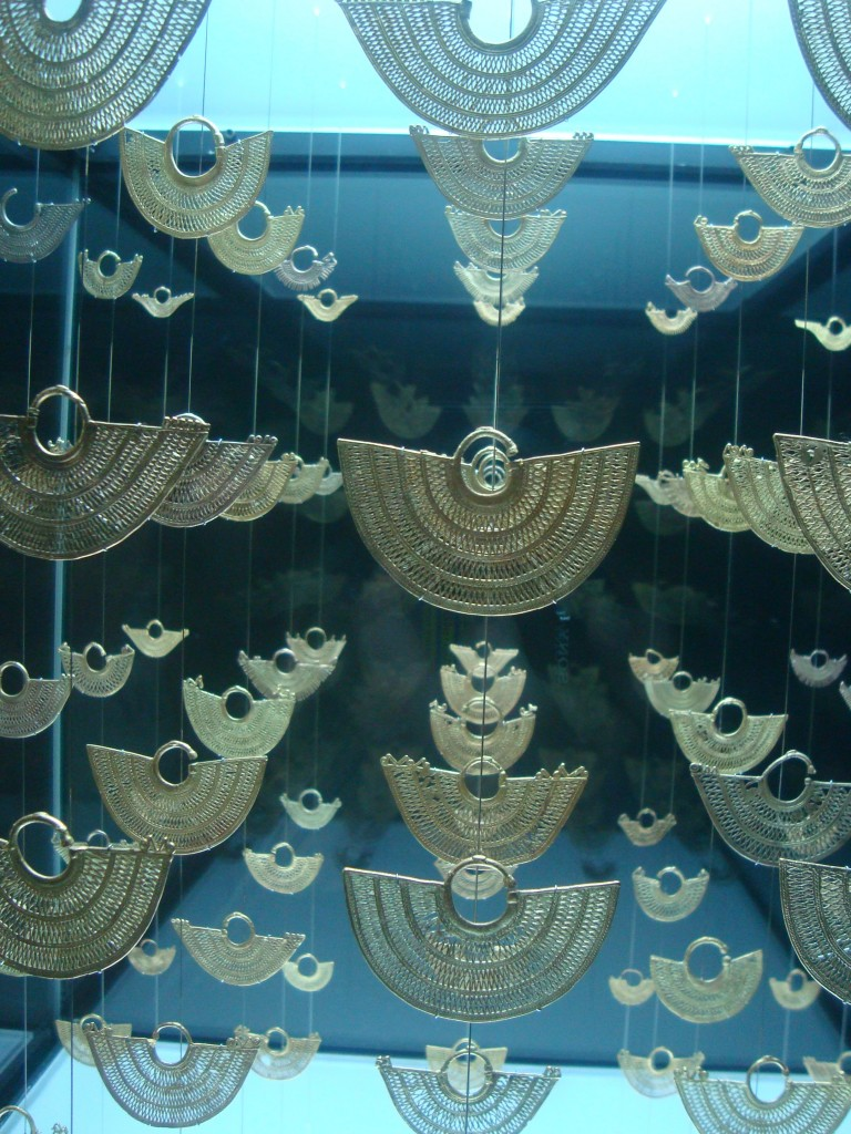 Relics in Cartagena's Gold Museum