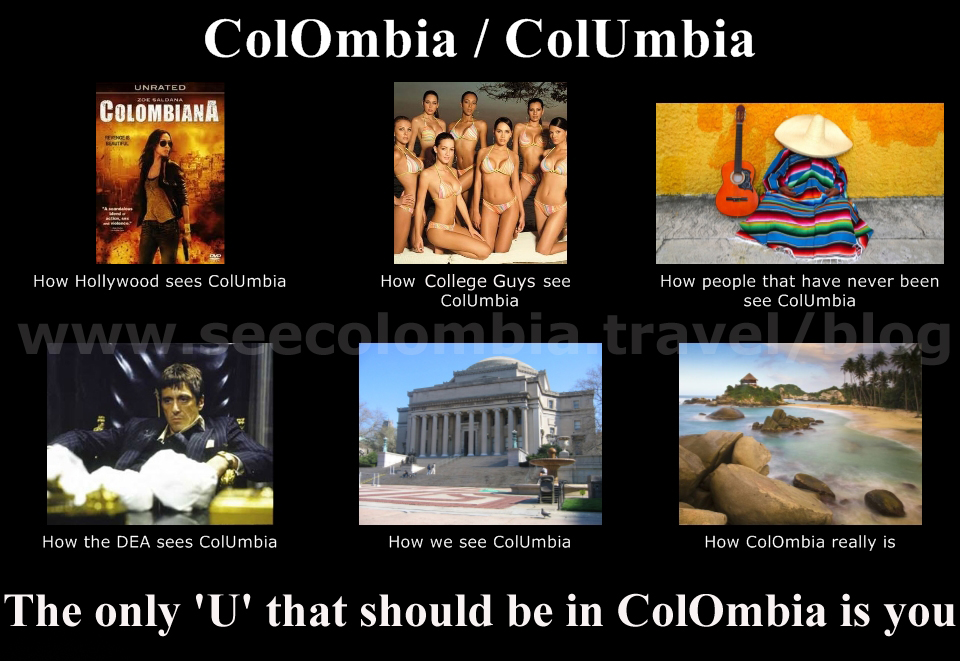 ColombiaColumbia colombia or columbia? colombia travel blog by see colombia travel