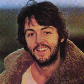 Paul McCartney rockin' a sweet jacket