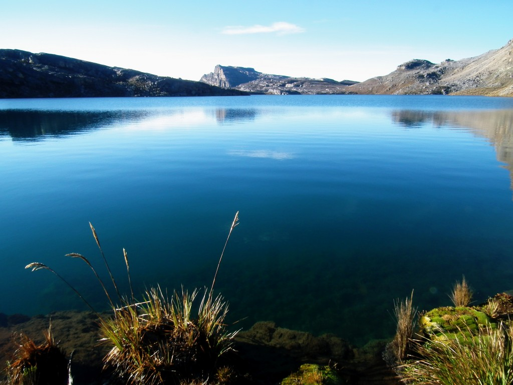 One of El Cocuy's beautiful glacial lakes
