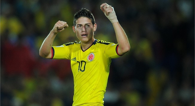 James Rodriguez: poised to 'do a Falcao'?