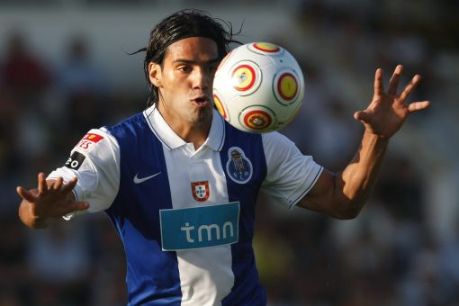'Look, no hands!' - Falcao in his Porto days