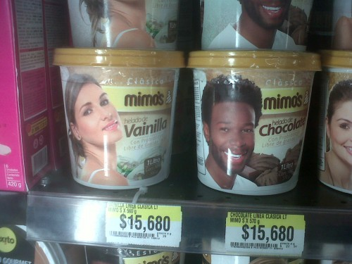 Mimo's ice cream... Racist?