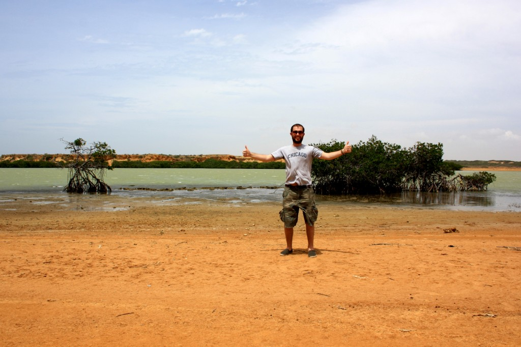 Paul at Punta Gallinas