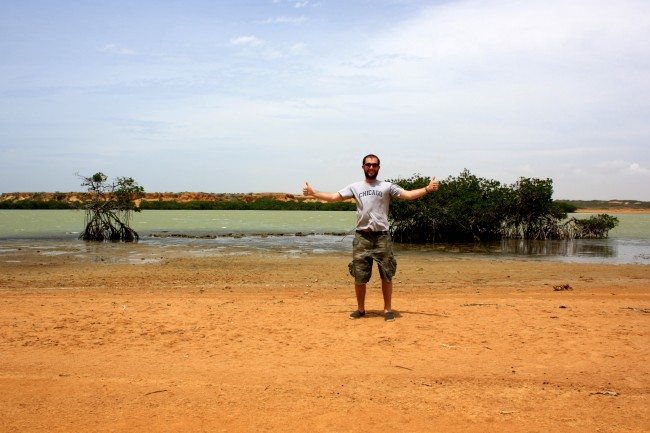Paul Fowler at Punta Gallinas