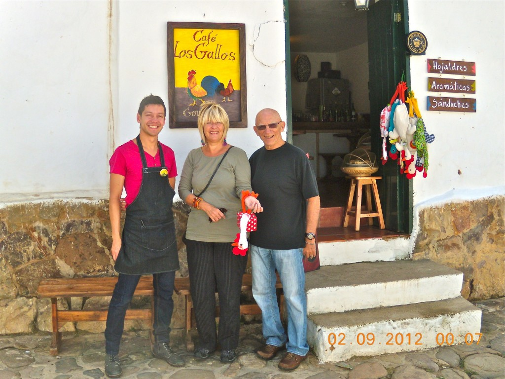 Cafe in Villa de Leyva