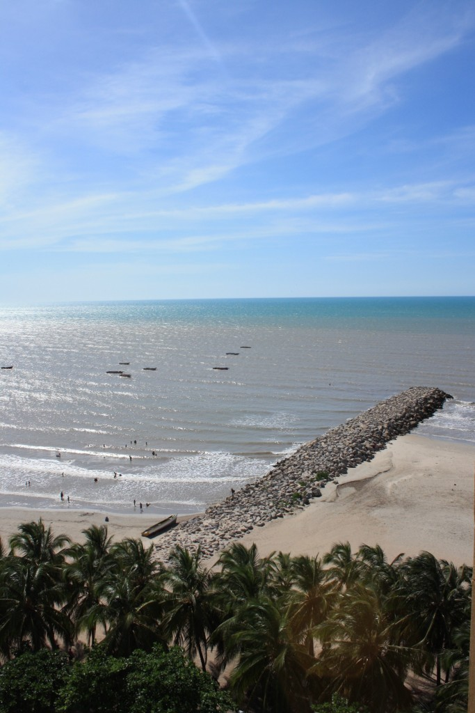 The beach at Riohacha