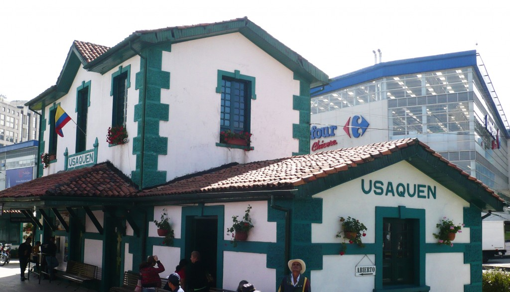 The Usaquen train station