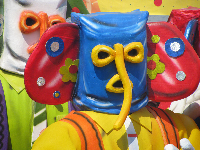 Marimonda Mask at Barranquilla's Carnival
