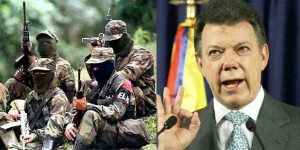 Colombian president Santos will engage in peace talks