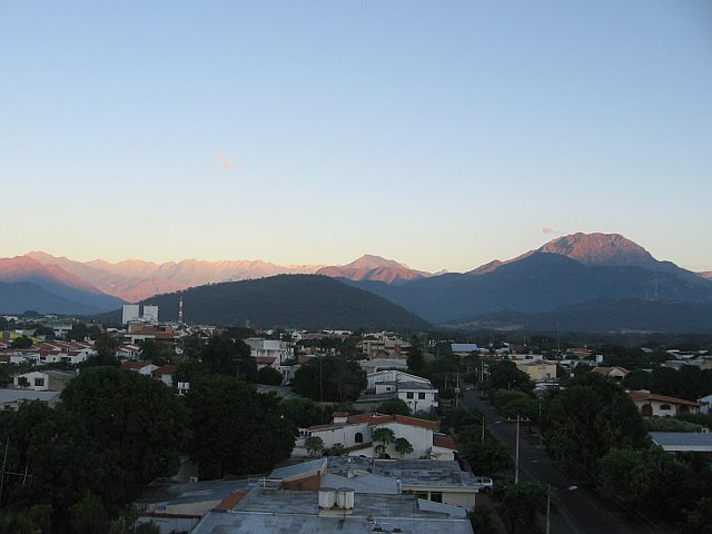 Valledupar's view of the mountains