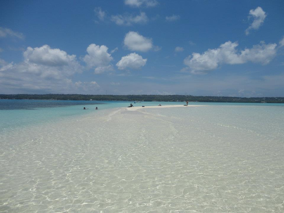 The clear waters of San Andres