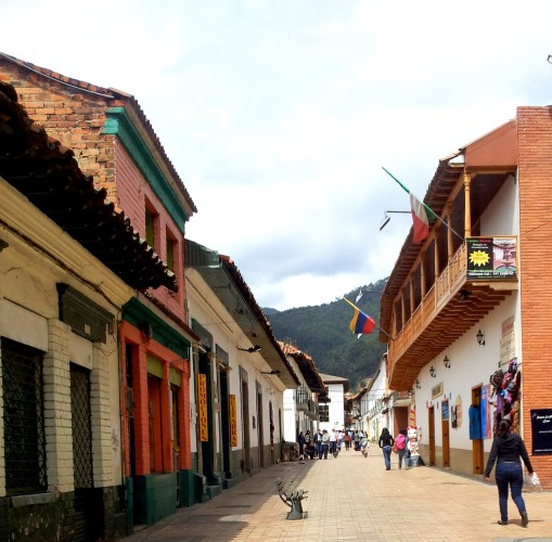 The town of Zipaquira