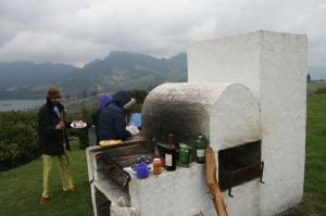 Meat, barbecue, rum and mountains. Good times