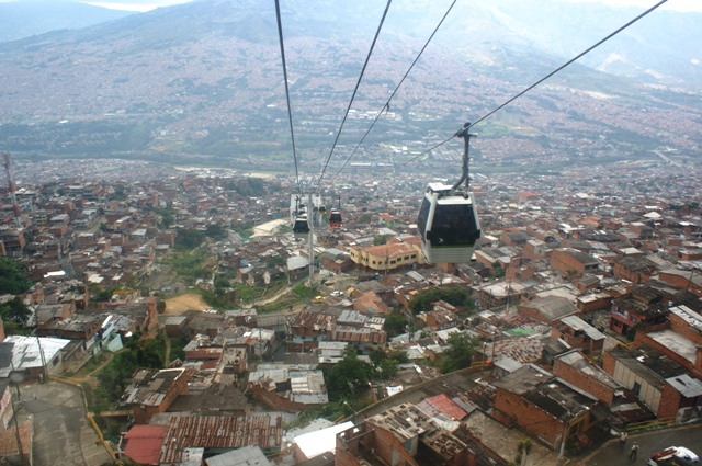 Innovative transport in Medellín. Frankly, Bogotá could do with a bit of that.