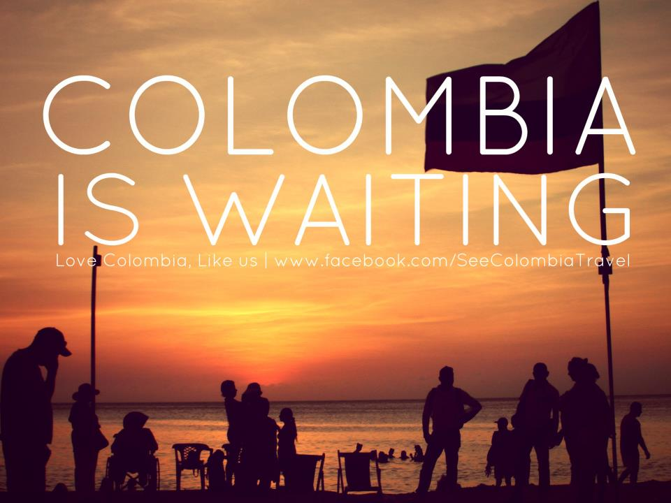 Colombia waiting