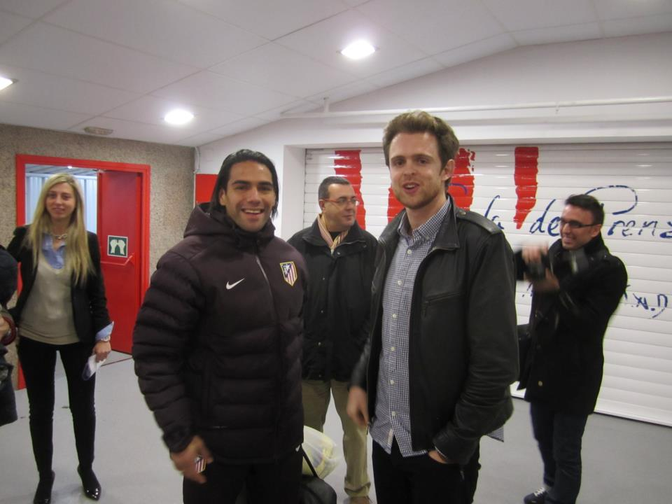 Chris and Falcao. Lads.
