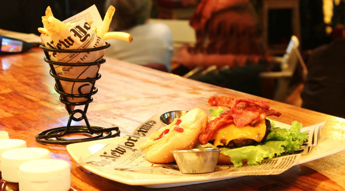Chef Burger in Medellin, Colombia serves up some of the city's best hamburgers