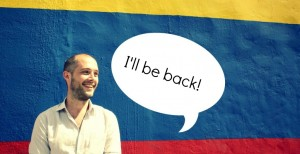 Paul Fowler bids farewell to his beloved adopted home, Colombia