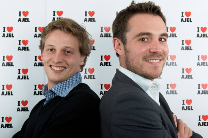 Jeff and JB, French entrepreneurs who started the Tayrona yoga brand