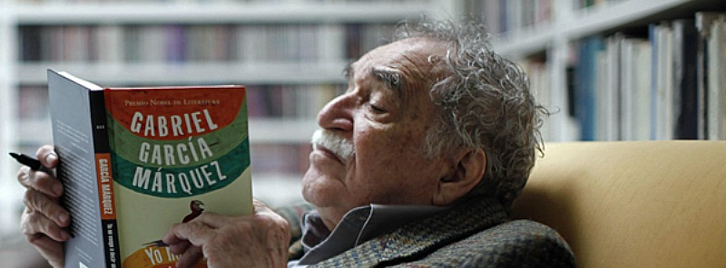 Gabo reading Featured