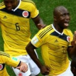 Colombian Football Players Dancing