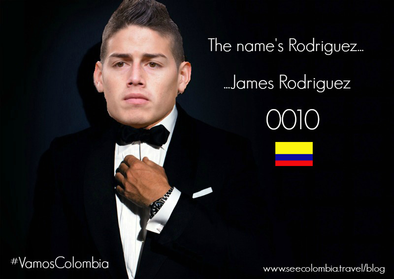 James Rodriguez Bond Meme