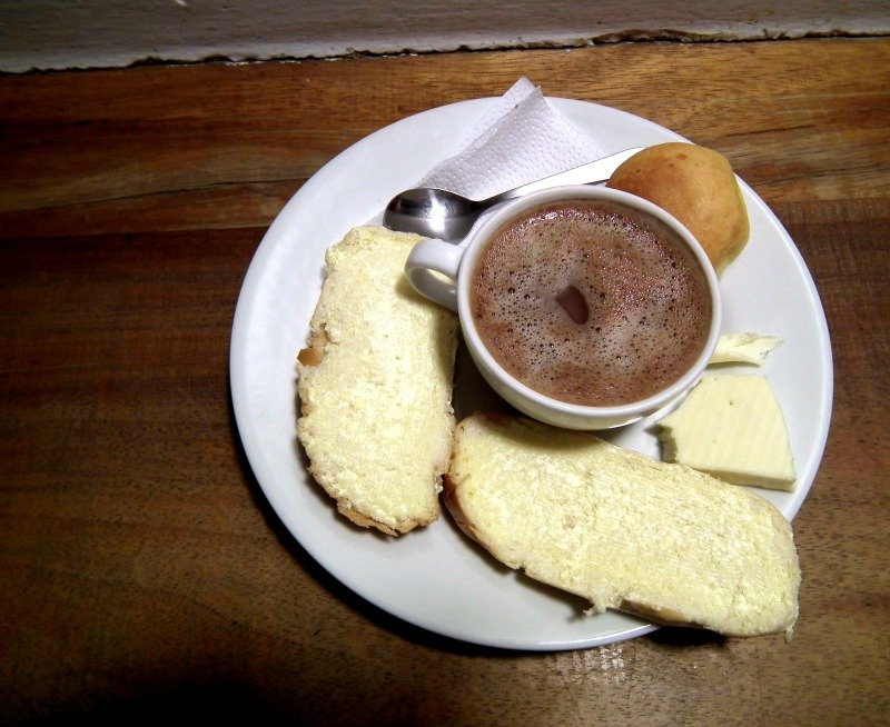 hot chocolate cheese bogota