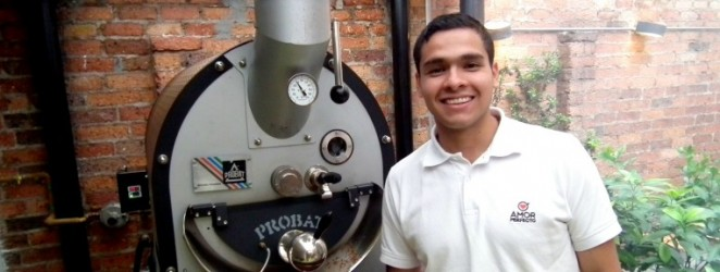 National Colombian barista champion