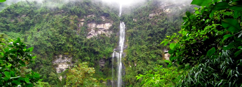 La Chorrera Waterfall Colombia