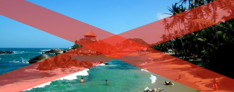 Tayrona Park Closed