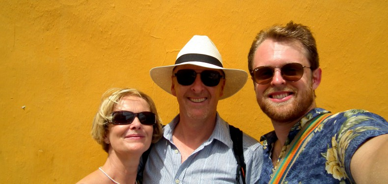 traveling with family in colombia