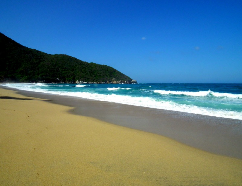 Nudist beach Tayrona
