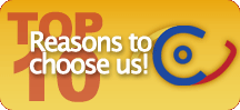 Top 10 Reasons to Choose Us