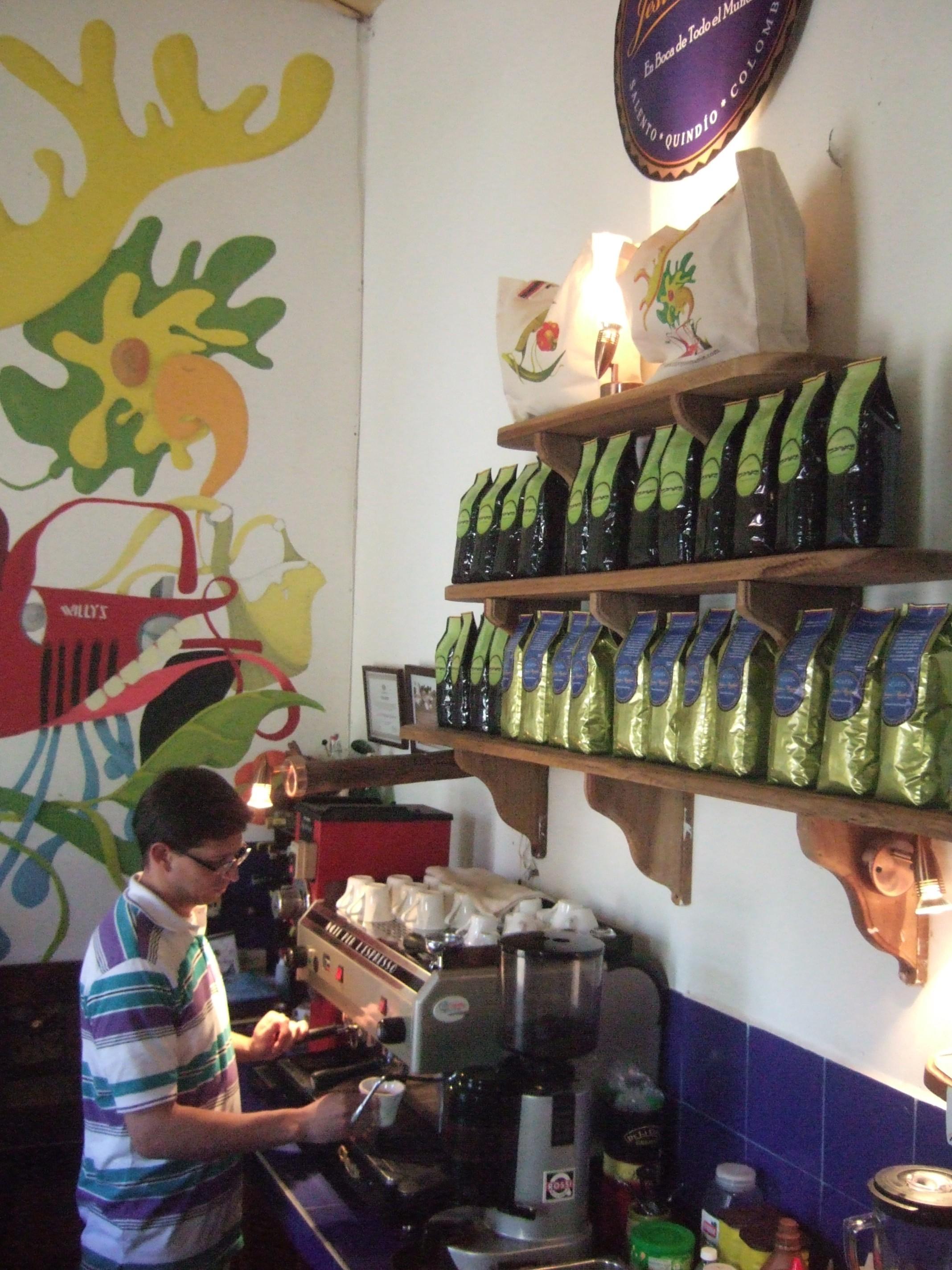Cafe Jesus Martin, Salento