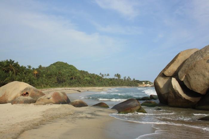 The spectaular Arricefes Beach