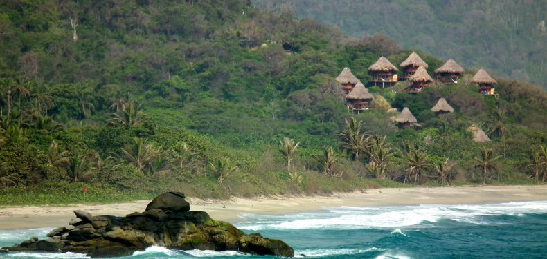 ecohabs tayrona national park colombia