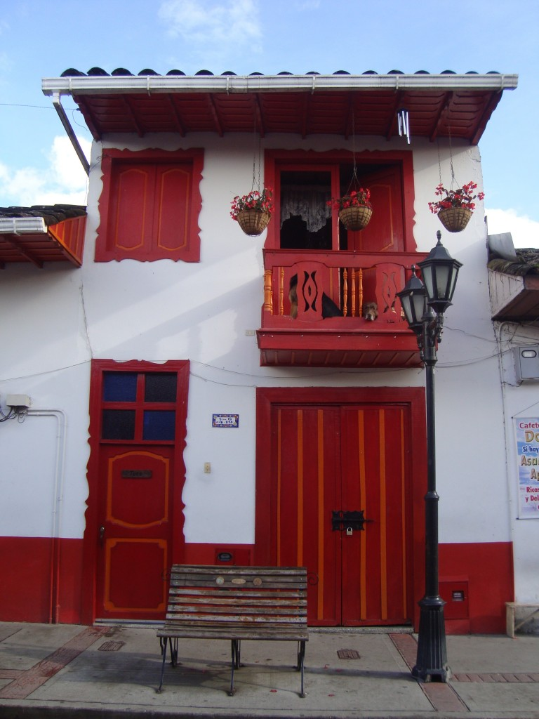 A typical colonial house in Salento