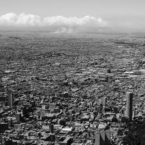 Bogotá from above