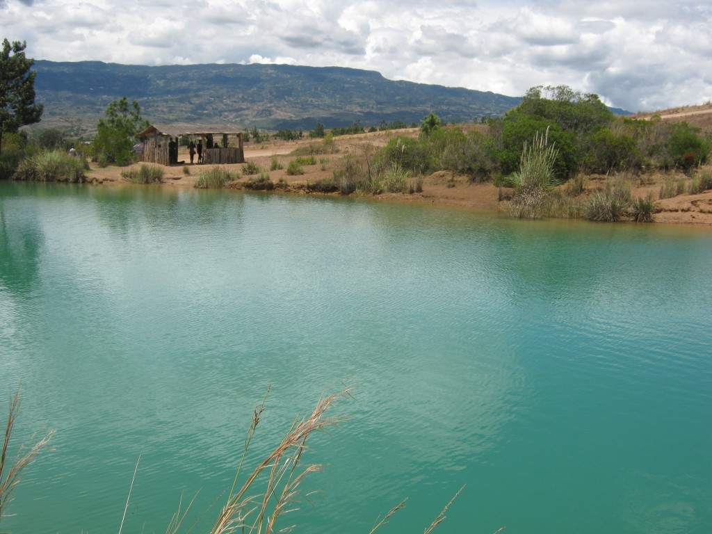 One of the five pozos azules (blue pools), which can be enjoyed as part of a short circular walk