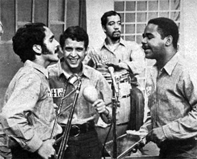 Willie Colón with Hector Lavoe