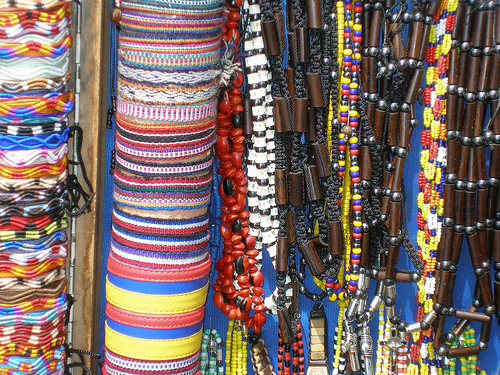 A selection of bracelets