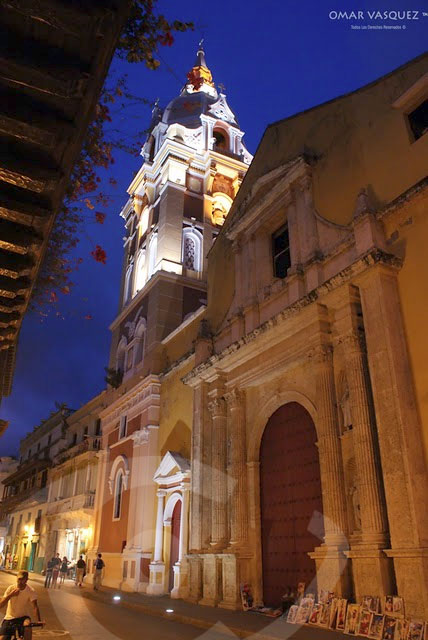 Stunning architecture in Cartagena
