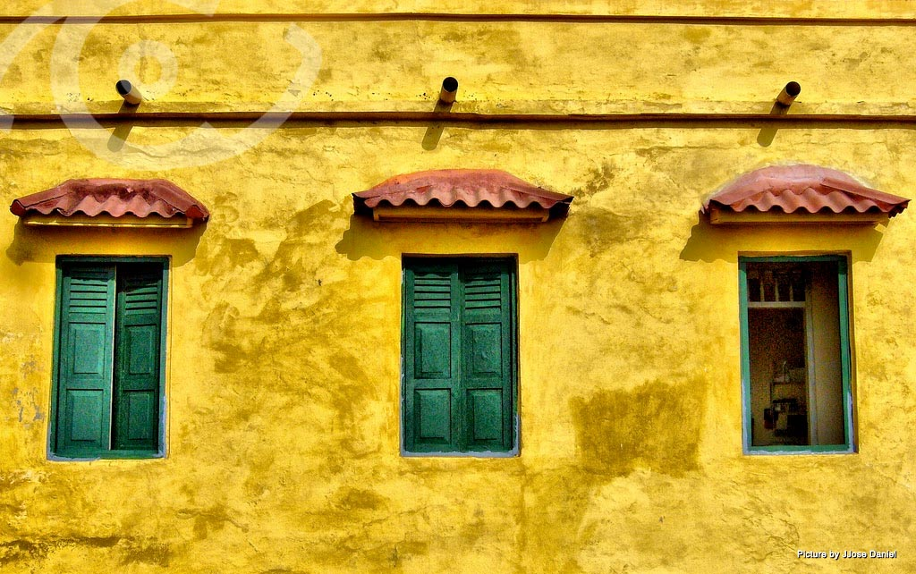 Colorful house in Cartagena
