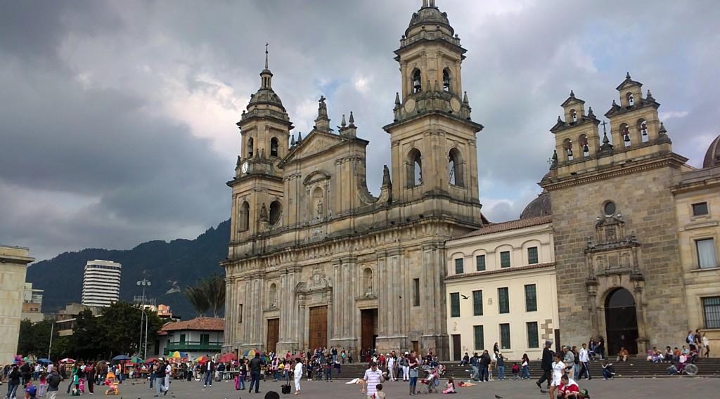 Paul's first photos of Bogota