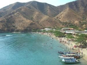Taganga's beaches